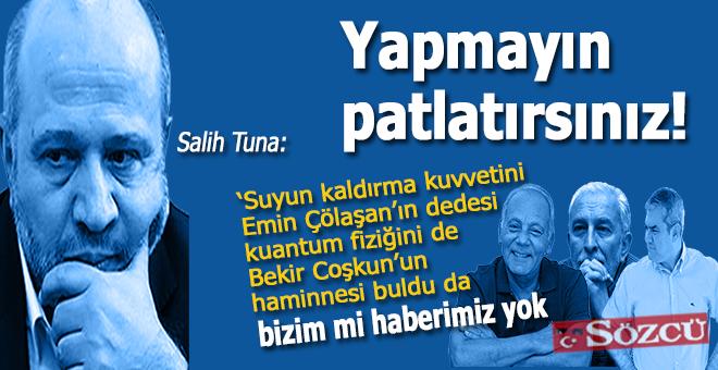"""Salih Tuna: """"Kılıçdaroğlu'na yazık günah değil mi Soner?"""""""