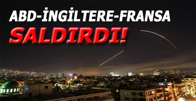 ABD Suriye'ye saldırdı!