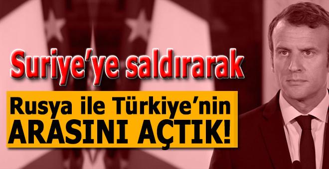"""""""Biz bu operasyonla Türkiye ile Rusyayı ayırmayı başardık!"""""""