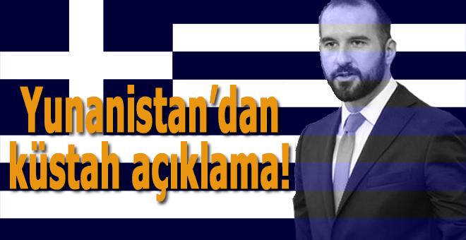 Yunanistan'dan bir küstah açıklama daha!