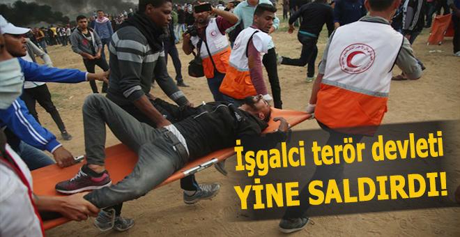 İşgalci terör devleti saldırdı; 4 Müslüman şehid yüzlerce yaralı!