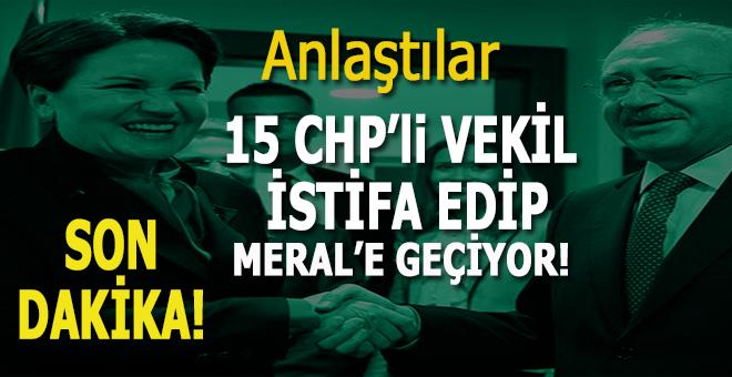 CHP ile İYİ Parti ittifak kurdu!
