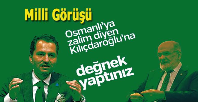"""""""Davamızı Kılıçdaroğlu'na değnek yaptınız!"""""""