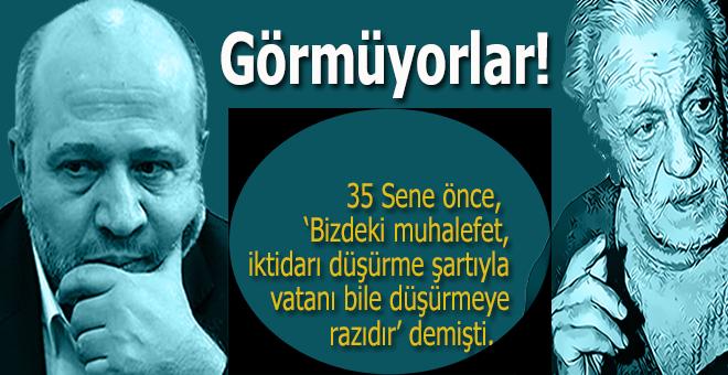 """Salih Tuna: """"Şahlanan Türkiye"""" değil, """"yerlerde sürünen Türkiye"""" istiyorlar..."""