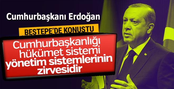 Cumhurbaşkanı Erdoğan'dan güçlü Meclis vurgusu!