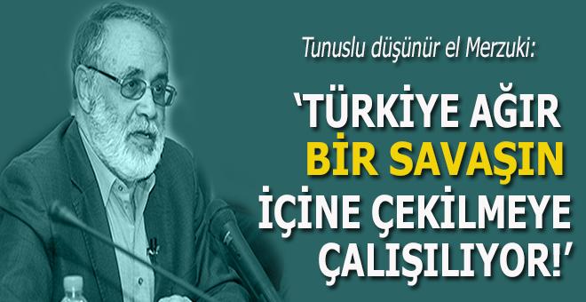 Merzuki, İslâm dünyasını Türkiye'nin yanında olmaya çağırıyor!