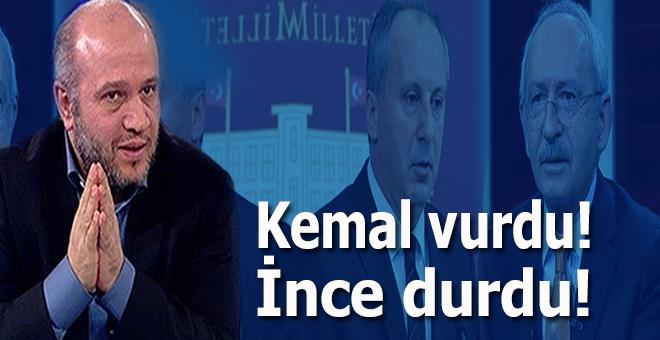 Salih Tuna; Kemal vurdu İnce durdu!