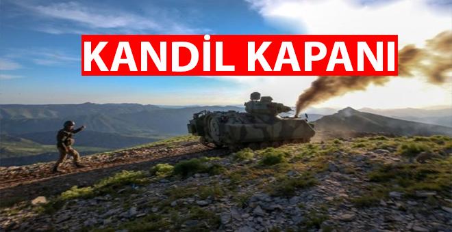 Kandil Kapanı; TSK İran sınırında PKK'nın önünü kesiyor!