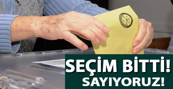 Türkiye'nin tarihi seçimi ân itibariyle bitti!