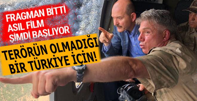 """Soylu: """"Terörle mücadelede fragman bitti asıl film şimdi başlıyor!"""""""