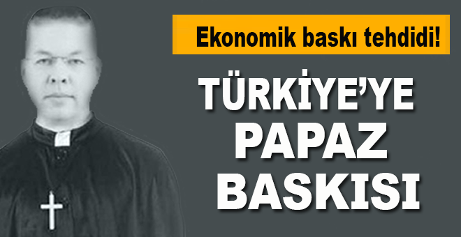 Türkiye'ye 'Brunson' tehdidi!
