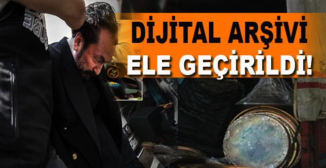 Adnan Oktar'ın dijital arşivi ele geçirildi!