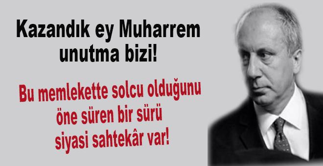 Kazıklandık ey Muharrem, unutma bizi!