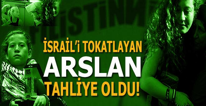 İsrail'i tokatlayan arslan; Ahed Tamimi serbest!