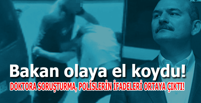 İçişleri Bakanı Süleyman Soylu olaya el koydu!