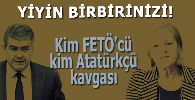 """Atatürkçü'lerin """"FETÖ'cü"""" kavgası!.."""