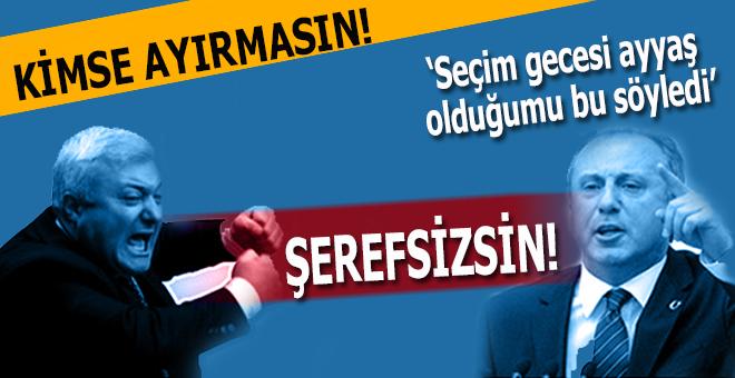 CHP'de, 'ayyaş' ve 'şerefsiz' kavgası!
