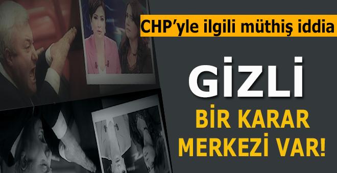 Müthiş iddia; CHP'de gizli bir karar merkezi var!