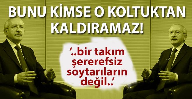"""""""Kılıçdaroğlu partiye lök gibi oturmuş, kimse onu yerinden kaldıramaz!"""""""