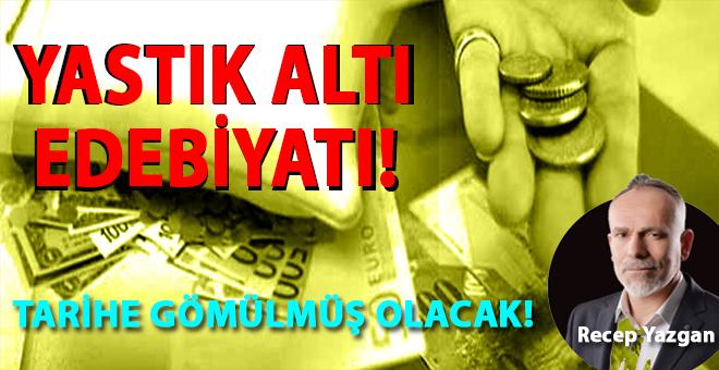 Türk milletimiz de belli ki bu kapitalist sisteme, bu sömürü düzenine, bu faizci bezirgânlara güvenmiyor!