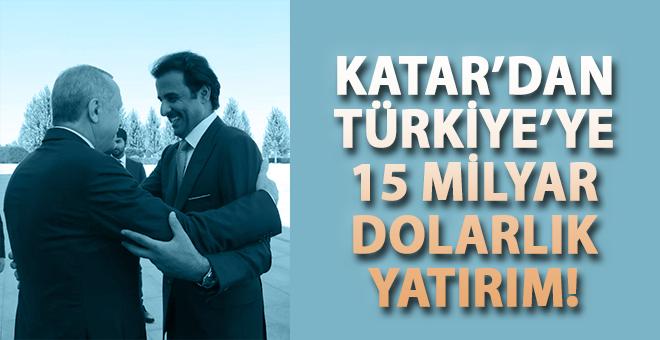 Ortaklık böyle olur; Katar'dan Türkiye'ye 15 Milyar Dolarlık Yatırım!