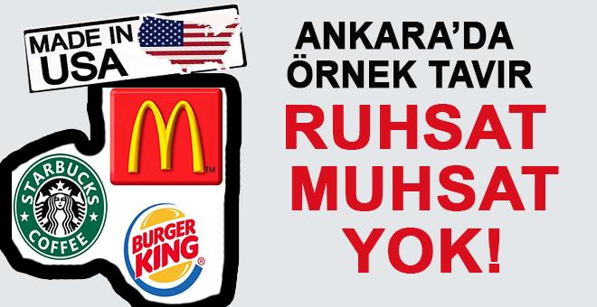 Ankara'da örnek milli tavır; ABD firmalarına ruhsat yok!