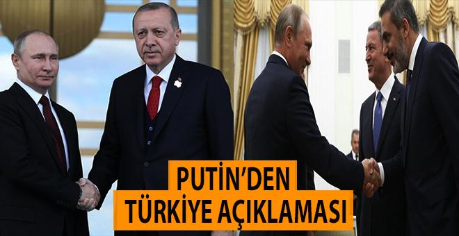 Putin'den Türkiye açıklaması!