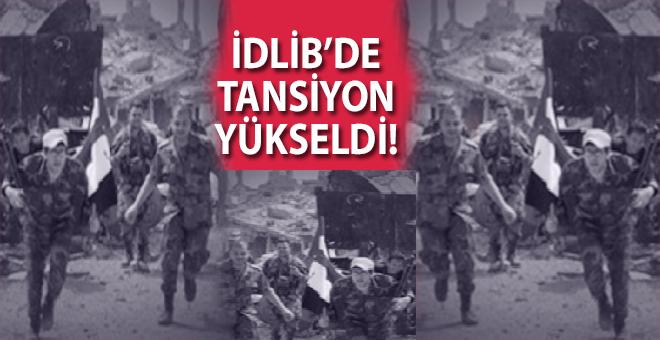 Suriye ordusu üç taraftan İdlib'i kuşattı!
