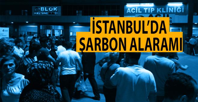 İstanbul'da şarbon alarmı!
