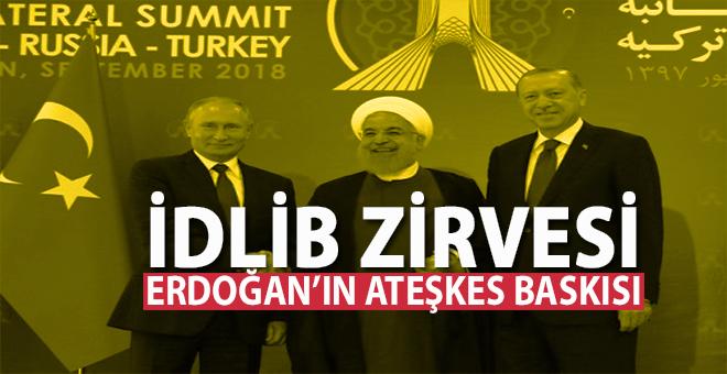 """Tarihî İdlib zirvesi canlı yayınlandı; Erdoğan, """"Bir çıkış yolu bulmalıyız!"""""""