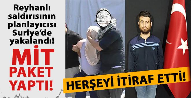MİT'ten nefes kesen operasyon;Reyhanlı saldırısının faili Suriye'de yakalandı!