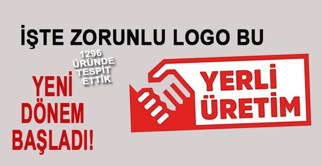Yerli ürünler için kullanılacak logo işte bu!
