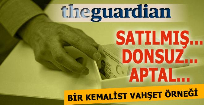 Guardian: Satılmış, Donsuz, Aptal... 105 bin Türk ismini değiştirdi!