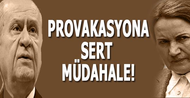 Provakasyona sert müdahele; 15 gözaltı!
