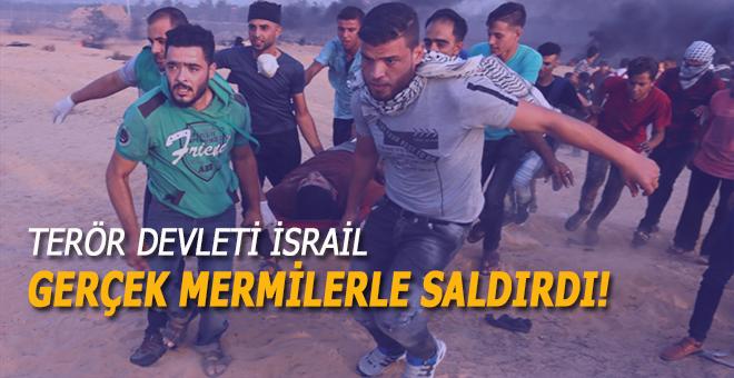 Terör devleti saldırdı; 3 Filistinli şehid!