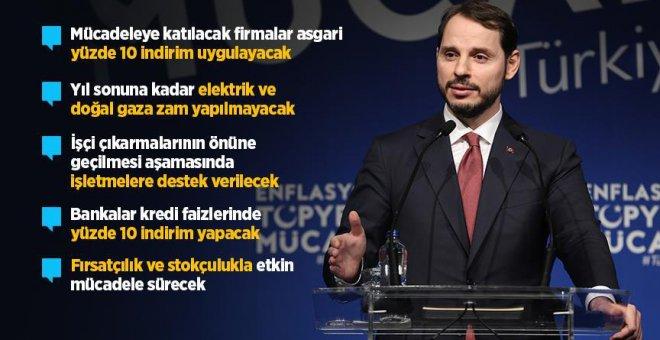Bakan Albayrak Enflasyonla Topyekun Mücadele Programını açıkladı!