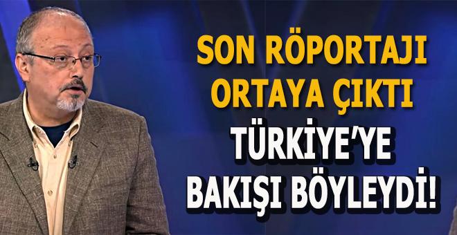 Kaşıkçı'nın son röportajında Türkiye ayrıntısı!