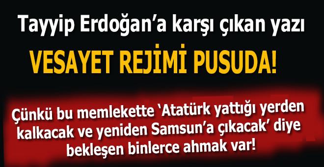 Engin Ardıç: Vesayet rejimi pusuda bekliyor!