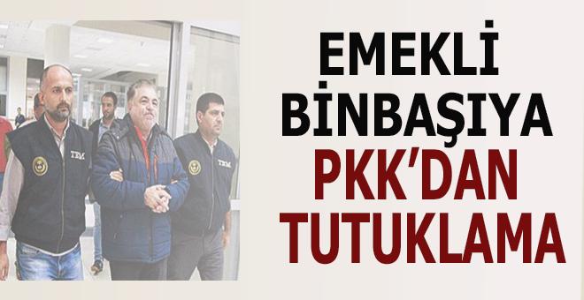 Emekli binbaşı PKK'dan tutuklandı!