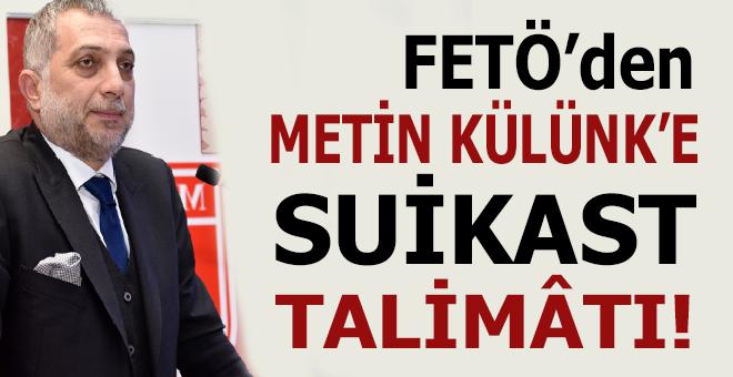 FETÖ'nün elebaşı Gülen, son konuşmasında AK Parti'li Metin Külünk'e suikast çağrısında bulundu!