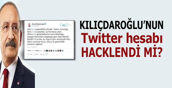 Kılıçdaroğlu'nun twitter hesabı hacklendi mi?