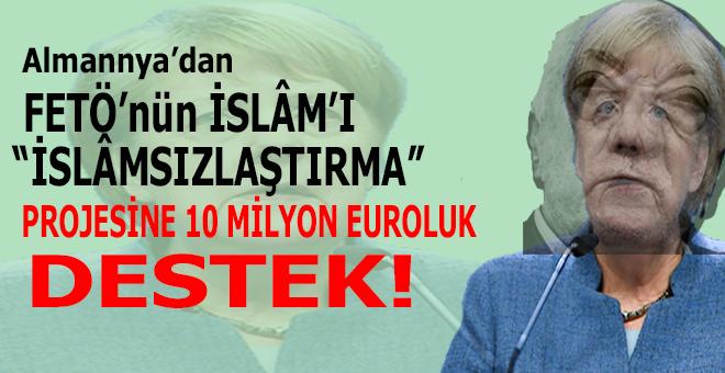 Almanya'dan FETÖ'nün İslâm'ı tahrif projesine 10 milyon euroluk destek!