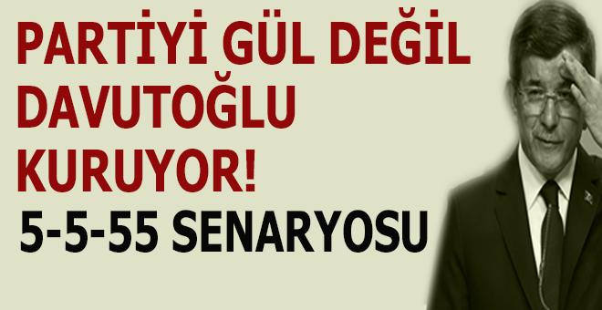 """""""Partiyi Gül değil, Davutoğlu kuruyor..."""""""