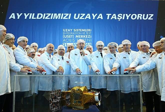 Türkiye`nin ilk uydu merkezi açıldı