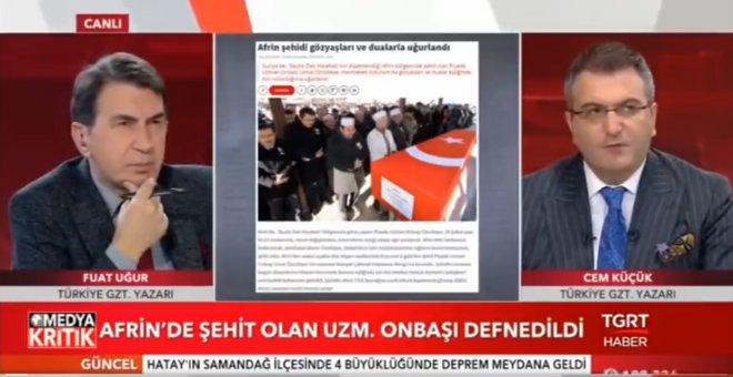 TGRT'de Medya Kritik programında Cem Küçük ve Fuat Uğur, gazeteci Şükrü Sak'a verilen ceza hakkında konuştu!