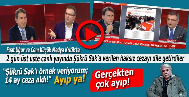 Şükrü Sak'a verilen haksız ceza dün de Medya Kritik'in gündemindeydi!