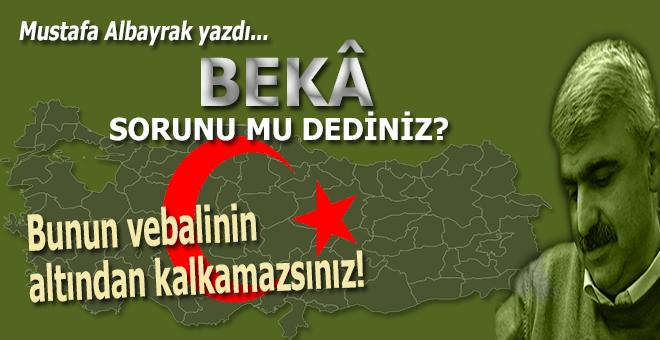 Mustafa Albayrak yazdı; Bunun vebalinin altından kalkamazsınız!