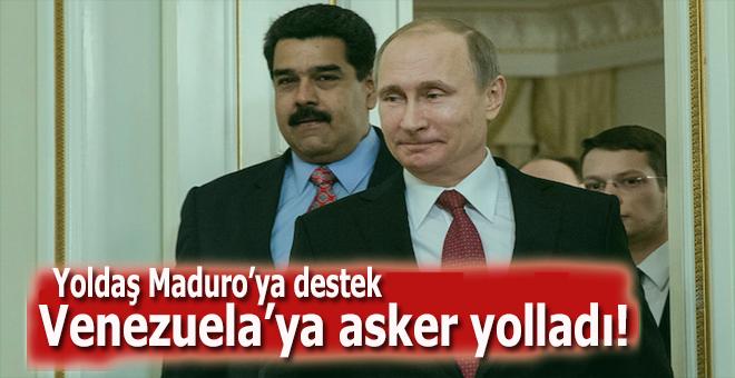 Rusya, Venezuela'ya asker yolladı!