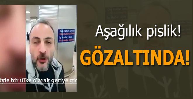 Başörtülü kadınlara hakaret eden Bülent Kökoğlu gözaltına alındı!