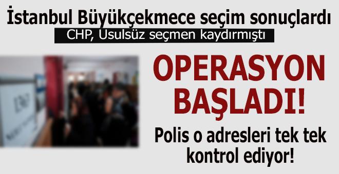Operasyon başladı; usulsüz seçmen kaydırıldı mı, polis adresleri kontrol ediyor!